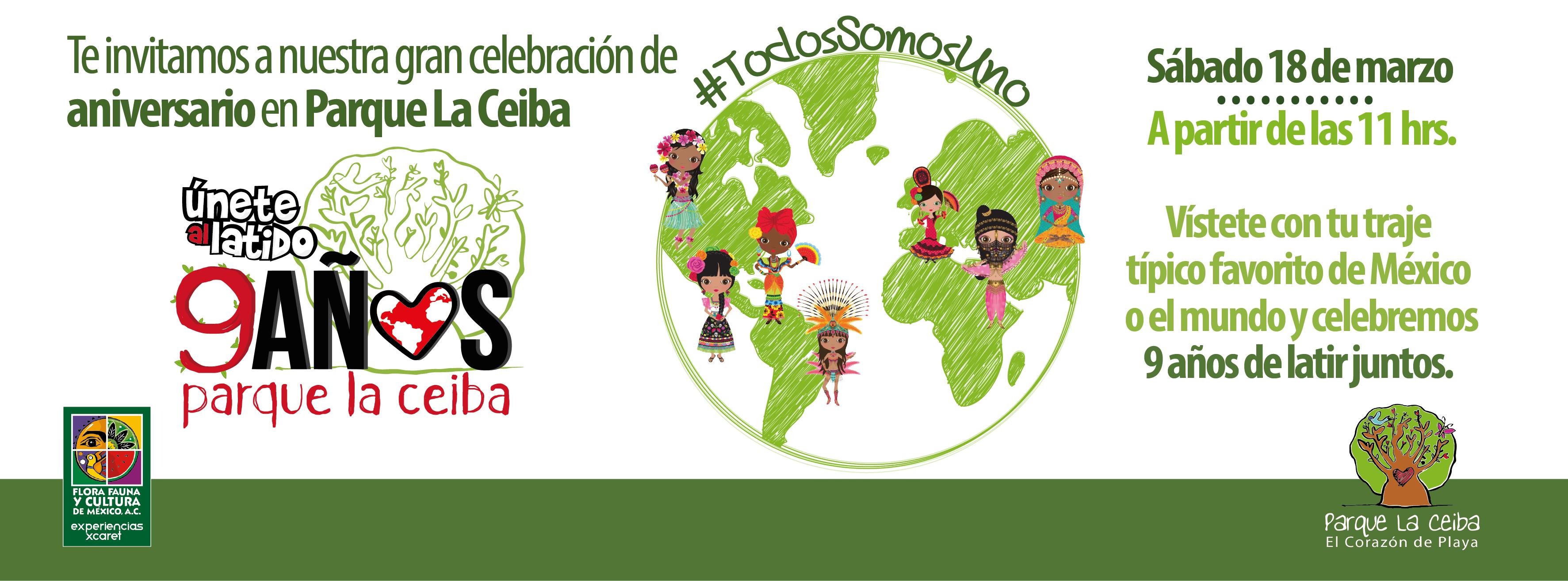 9 años de Parque La Ceiba