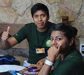 Voluntariado en el área institucional