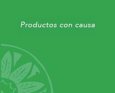 Productos con causa