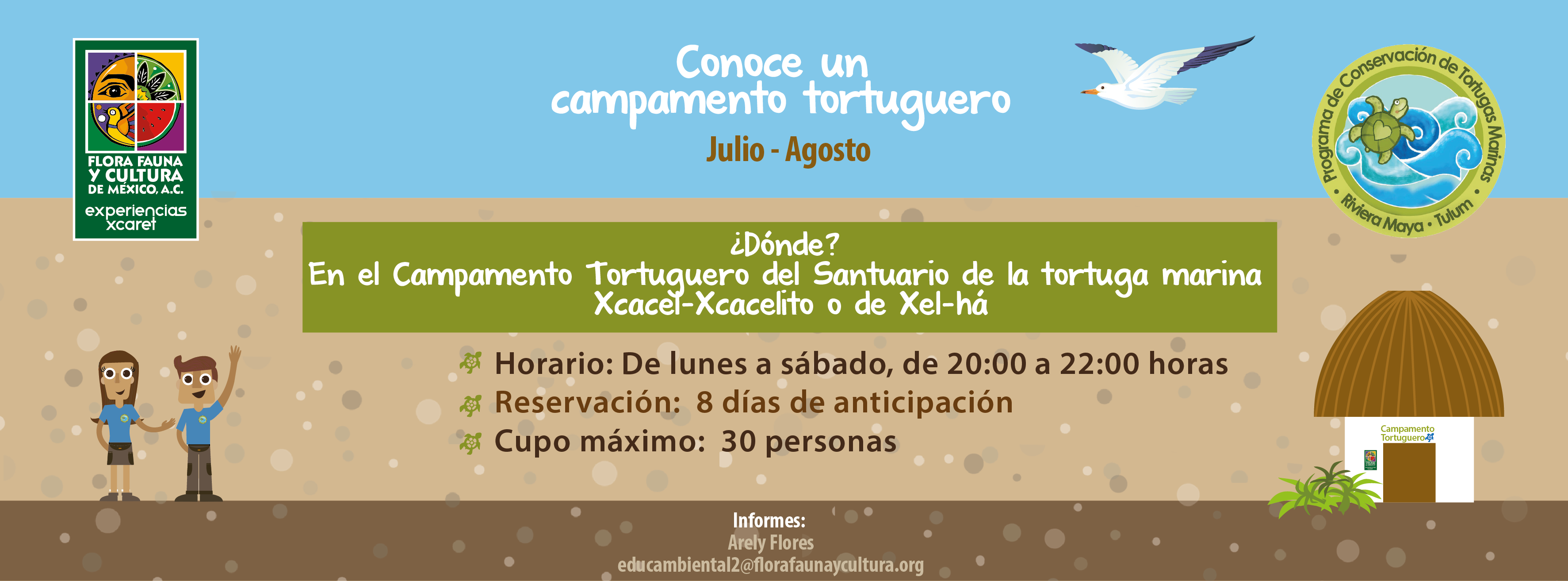 Conociendo un Campamento Tortuguero