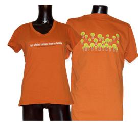 Playeras naranjas